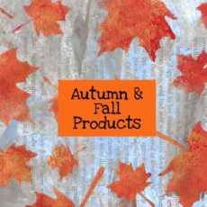 Autumn Fall Products