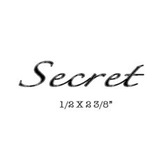 CST221C Secret Rubber Stamp
