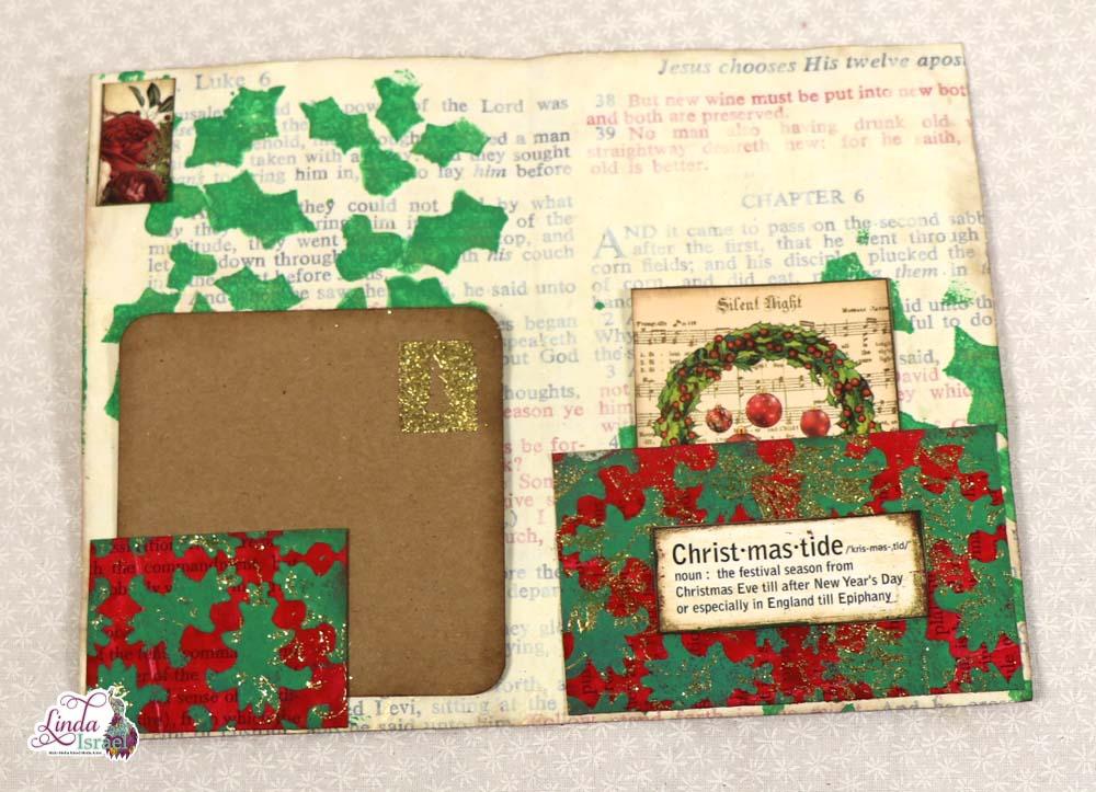 A Christmas Dream Mini Junk Journal Tutorial