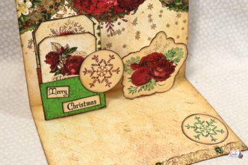 A Christmas Dream Pop Up Card Tutorial