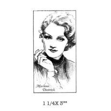 CST111D Marlene Rubber Stamp