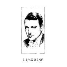 CST218D Nils Rubber Stamp