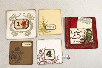 December Advent Journal Cards Tutorial