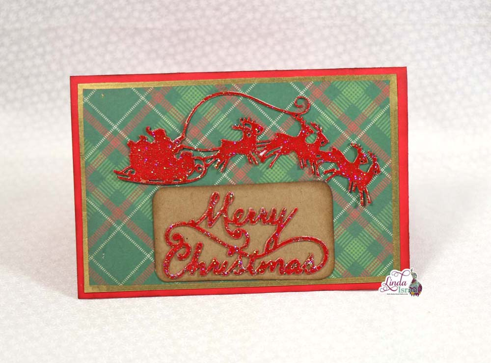 Two Quick Christmas Cards Tutorial