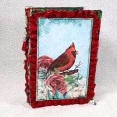 Cardinal Winter Woodland Junk Journal