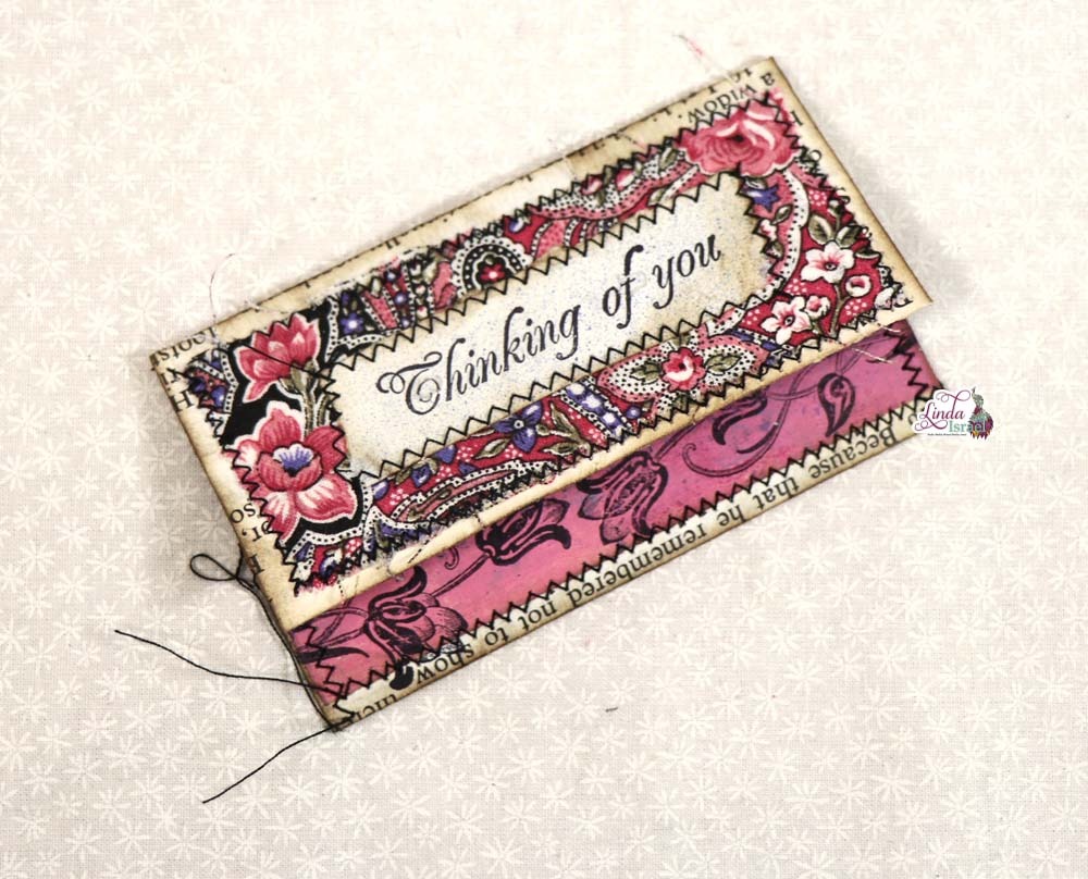 Day 11 of 12 Days of Junk Journal Gift Ideas Gift Card Holder