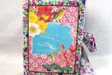 Day 12 of 12 Days of Junk Journal Gift Ideas Folio Journal