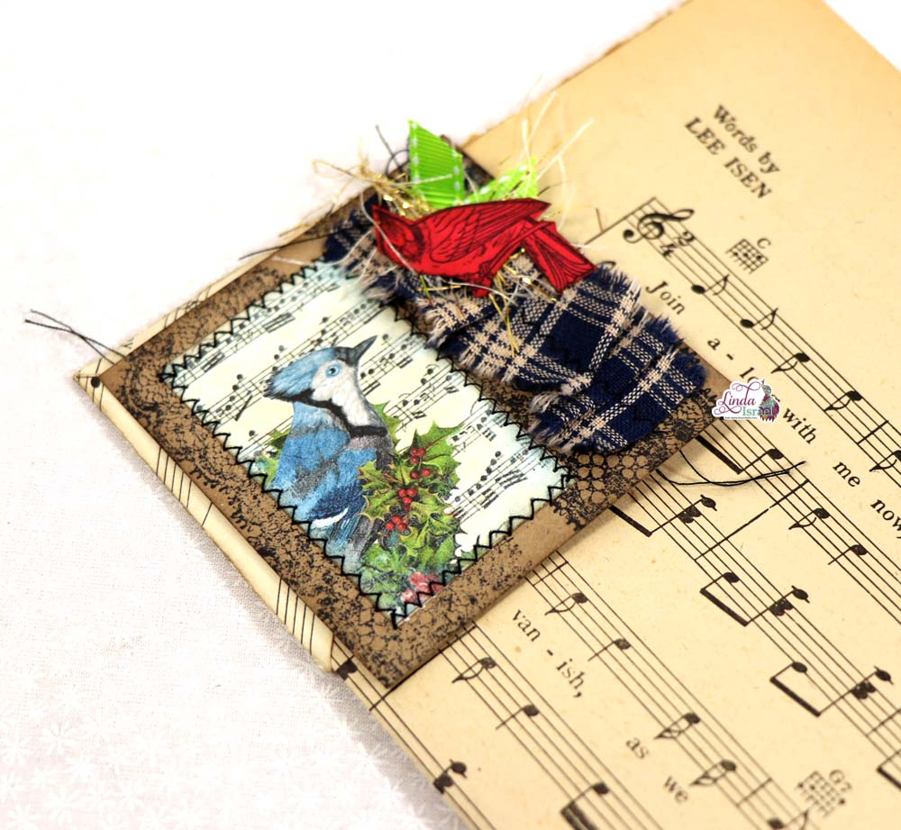 Day 9 of of 12 Days of Junk Journal Gift Ideas Corner Tuck
