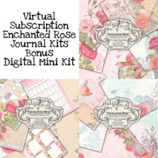 Virtual Subscription Enchanted Rose Journal Kit