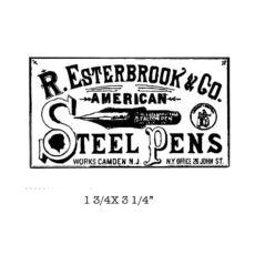 CA312D Esterbrook Rubber Stamp
