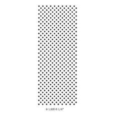CBA720F Polka Dots Rubber Stamps