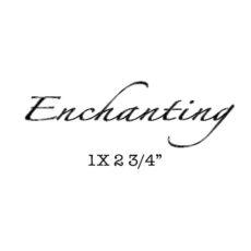 CFF313C Enchanting Rubber Stamp