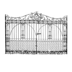 CFF401F Manor Gate Rubber Stamp