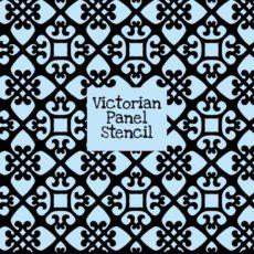 Victorian Panel Stencil