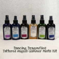 Dancing Dragonflies Tattered Angels Glimmer Mists Kit