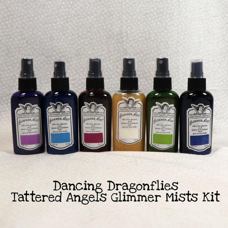 Dancing Dragonflies Tattered Angels Glimmer Mists Kit