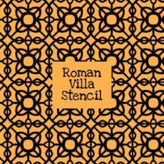 Roman Villa Stencil