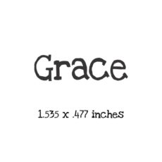 WH110A Grace Stamp
