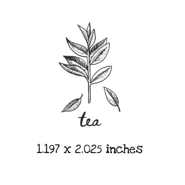 AP206C Tea Rubber Stamps
