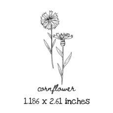 AP230C Cornflower Rubber Stamps