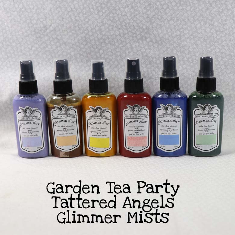 Garden Tea Party Tattered Angels Glimmer Mists Kit