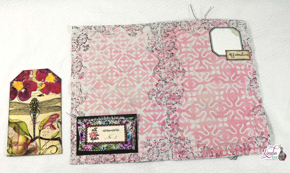Creating A Tuck Spot and Pocket on a Journal Page