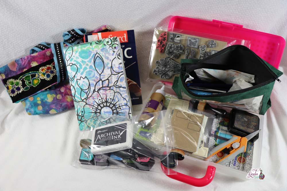 My Junk Journal Travel Kit