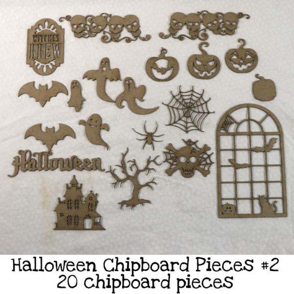 Halloween Chipboard Pieces #2